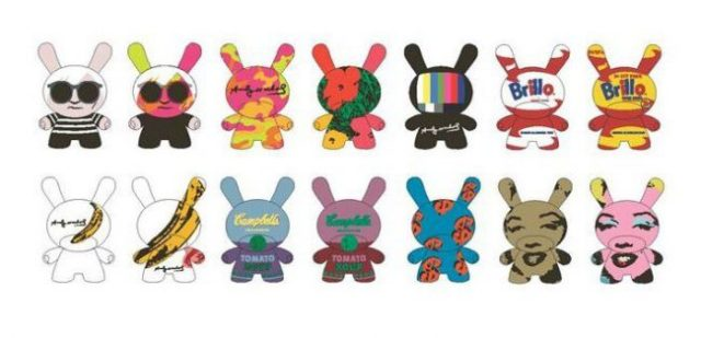 Blind box assortment of Dunny figures