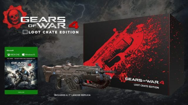Gears of War 4: Loot Crate Edition