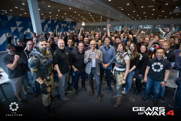 """Gears of War 4 """"Goes Gold"""""""