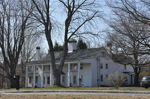 Sawyer house in Boxford, MA