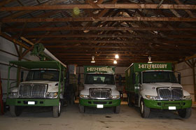 Royal Green Tree Service fleet