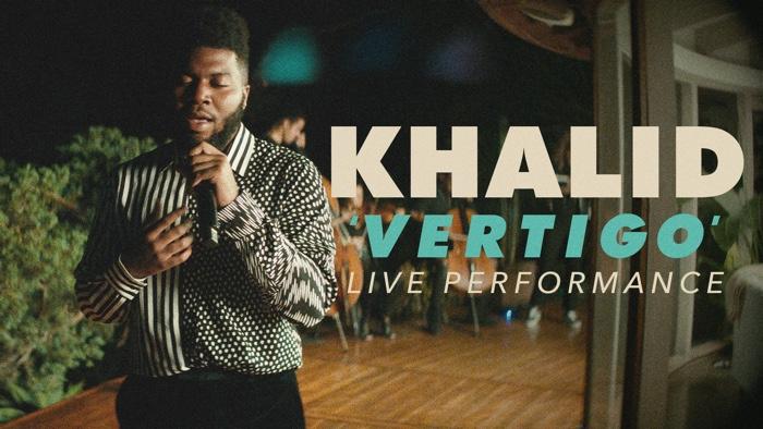 Khalid performs Vertigo for Vevo