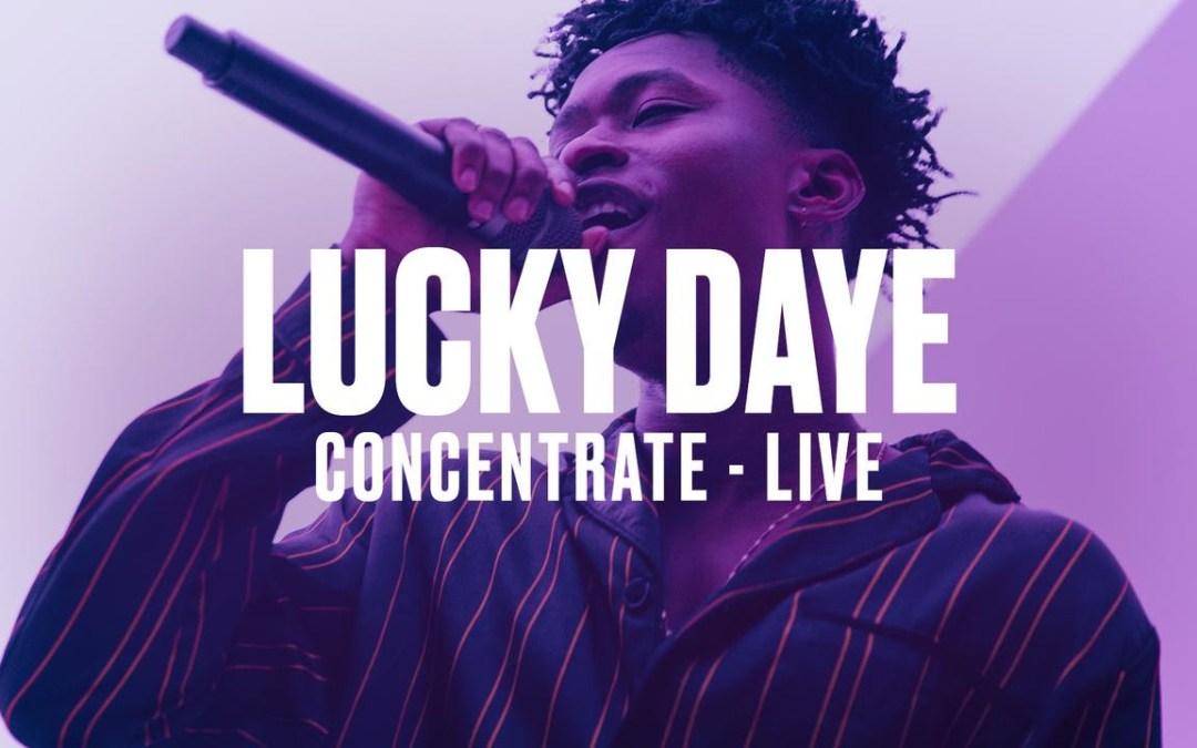 """Lucky Daye – """"Concentrate"""" (VEVO DSCVR LIVE)"""