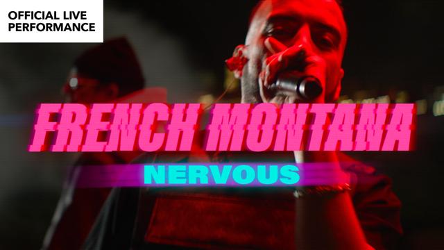 "VEVO LIVE PERFORMANCE: French Montana ""Nervous"""