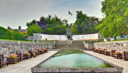 Garden of Remembrance Parnell Square, Dublin