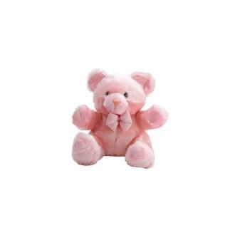 "Light Pink Teddy Bear Plush Stuffed Animal, 8"""