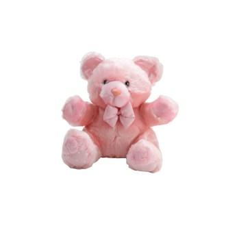"Light Pink Teddy Bear Plush Stuffed Animal, 10"""
