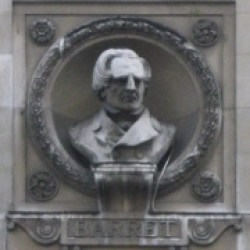 Bust of George Barrett