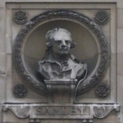 Bust of Paul Sandby