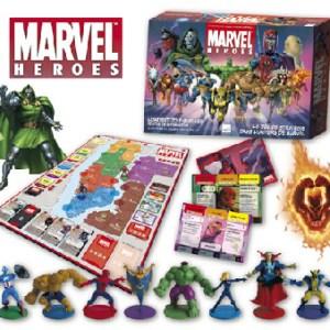 Jeu de société Marvel Heroes