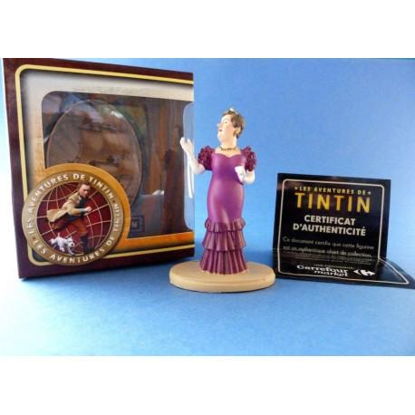 5 Figurines Tintin neuves Statuette résine