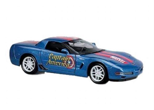 Corvette Captain America Marvel