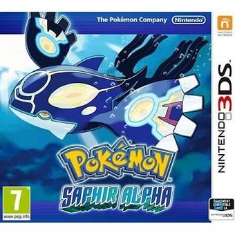 Jeu Pokémon SAPHIR ALPHA 3DS
