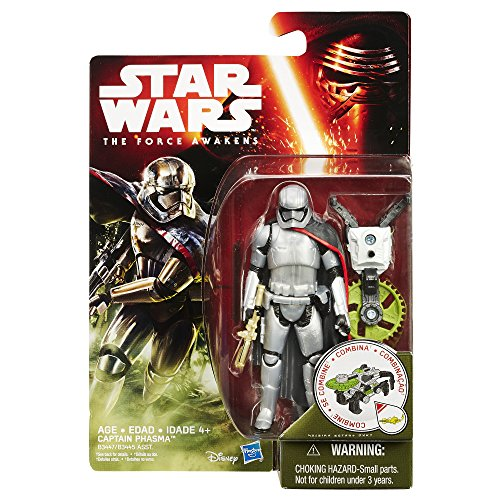 Star Wars: The Force Awakens 3 figurines (Constable Zuvio+Resistance Trooper+Captain Phasma)
