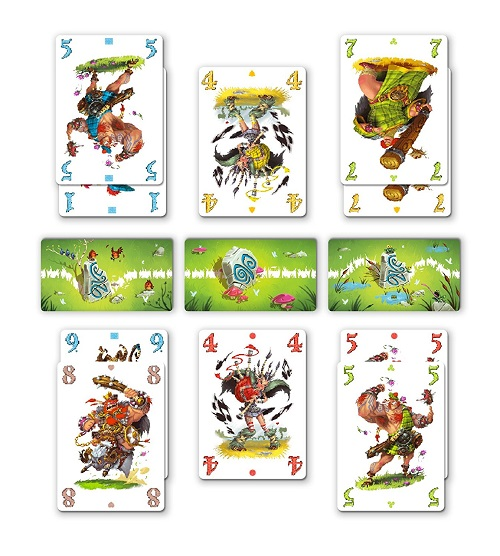 Schotten Totten jeu de cartes