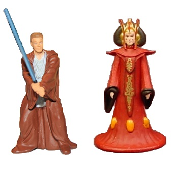 Amidala et Anakin Skywalker 2 fig Star Wars 2007 LFL