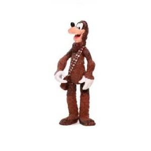 Dingo en Chewbacca Disney fig Star Wars 2009 LFL