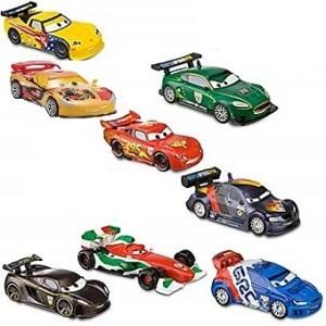 Lot 8 voitures Cars 2 World Grand Prix Disney/Pixar