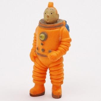 Tintin astronaute 1994 fig vintage Hergé LU