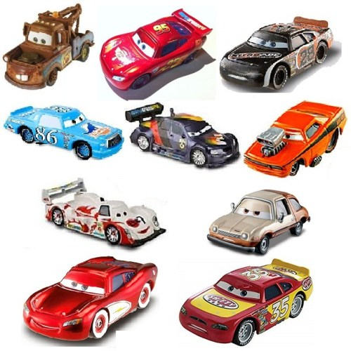 10 voitures Cars Lot Disney/Pixar
