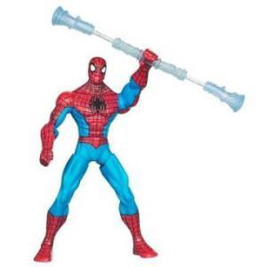 Spiderman 2010 Marvel Hasbro avec bras et arme tourbillon 15 cm