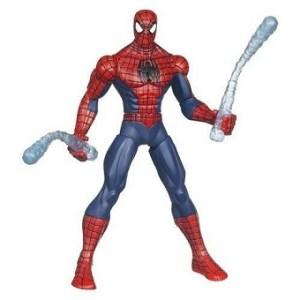 Spiderman 2010 Marvel Hasbro avec armes toiles combat 15 cm