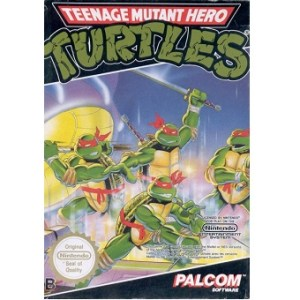 TEENAGE MUTANT HERO TURTLES Jeu Nes Original