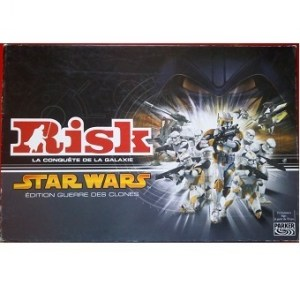 Risk Star Wars édition guerre des clones Parker Hasbro.