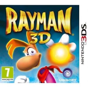 Rayman 3D jeu vidéo Nintendo 3DS