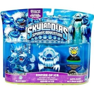 skylanders spyro's adventure empire of ice adventure pack neuf.