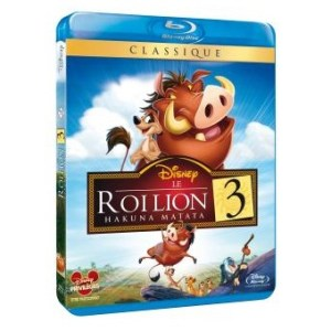 Le Roi Lion 3 Blu-ray Disney N°71