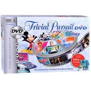 Trivial Pursuit Disney DVD Parker