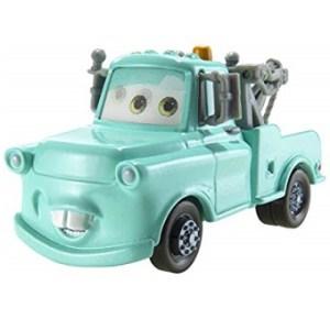 Martin bleu clair Voiture Disney cars dépanneuse avec les yeux mobile. (Rare)