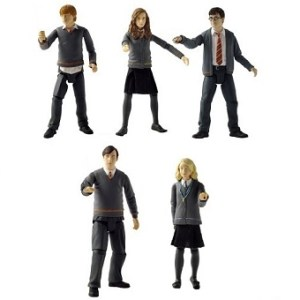 5 figurines Harry Potter et l'ordre du phénix + 1 figurine surprise offerte