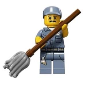 Le Concierge MiniFigurine Lego Série 15.