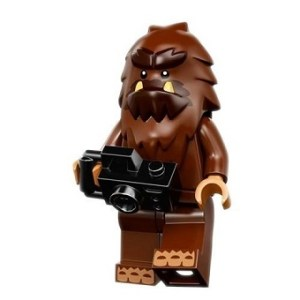 PIED CARRÉ Lego MiniFigurine Série 14 Monsters N°15 YETI
