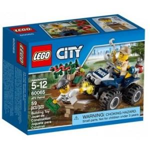 Lego City 60065 avec boite et notice