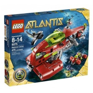 Lego Atlantis 8075 avec boite et notice