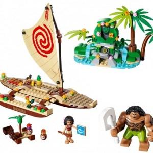LEGO Disney Vaiana 41150 Le voyage en mer avec notice.