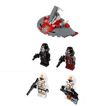 LEGO Star Wars 75001 et 75002 Republic Troopers™ vs Sith™ Troopers + AT-RT
