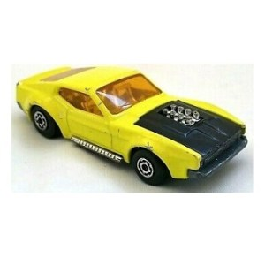 MatchBox N°44 Boss Mustang superfast 1972 Made in England