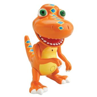 Samy et le Contrôleur Dino Train 2 figurines parlante Tommy Henson 2011.