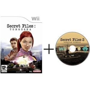 Secret Files Tunguska et Secret Files 2 Puritas Cordis Wii
