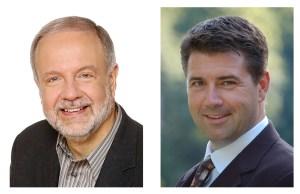 Gino Romanese and Alan Stewart