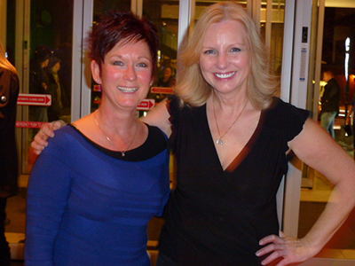 Pam Bowman and Jackie Townshend (broker/manager) of Royal LePage Community Realty.