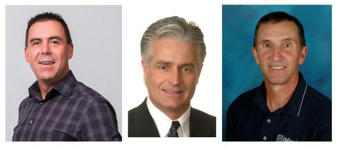 Norm Fisher, Gary Emde, Don McIvor