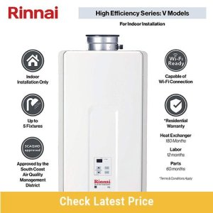 Rinnai V Series HE Tankless Hot Water Heater