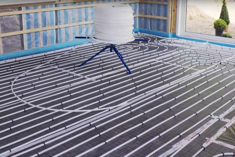 installing radiant floor heating in existing home