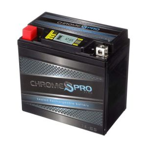 Chrome Battery YTX14BS Rechargeable Battery