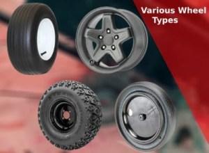 Various Wheel types